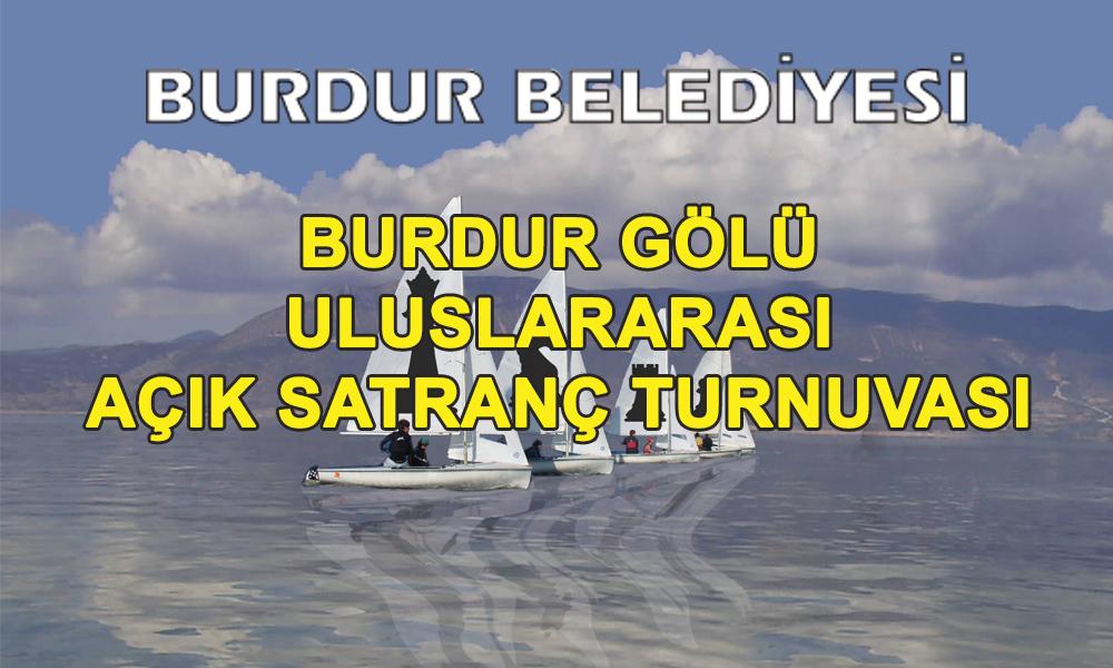 Burdur Gölü Uluslararası 5. Açık Satranç Turnuvası